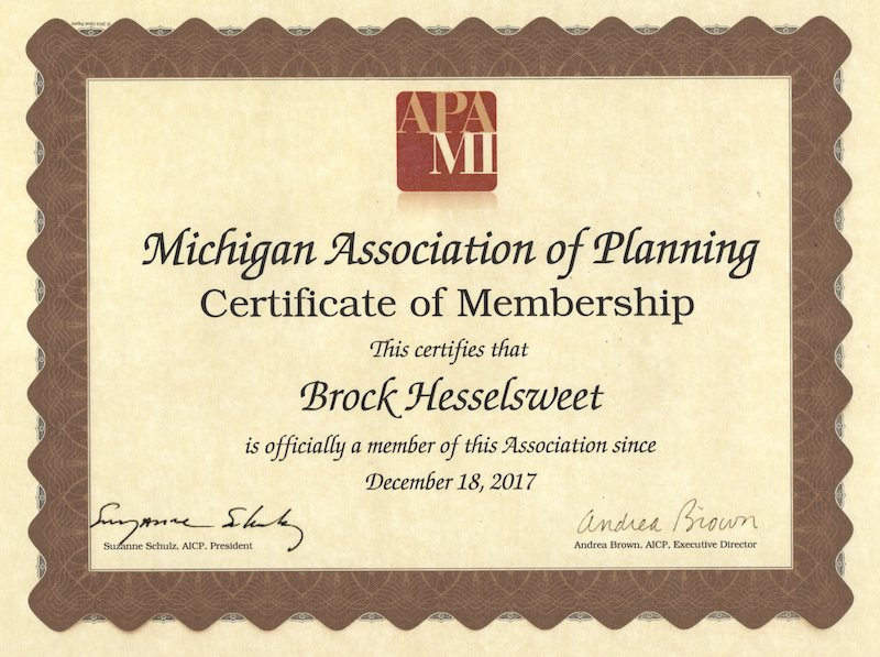 Michigan Association of Planning